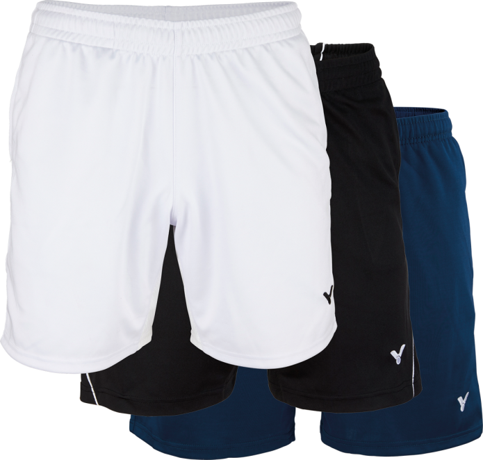 VICTOR Short Function 4866 weiß Sport Hose Training Turnier Outfit Badminton – L